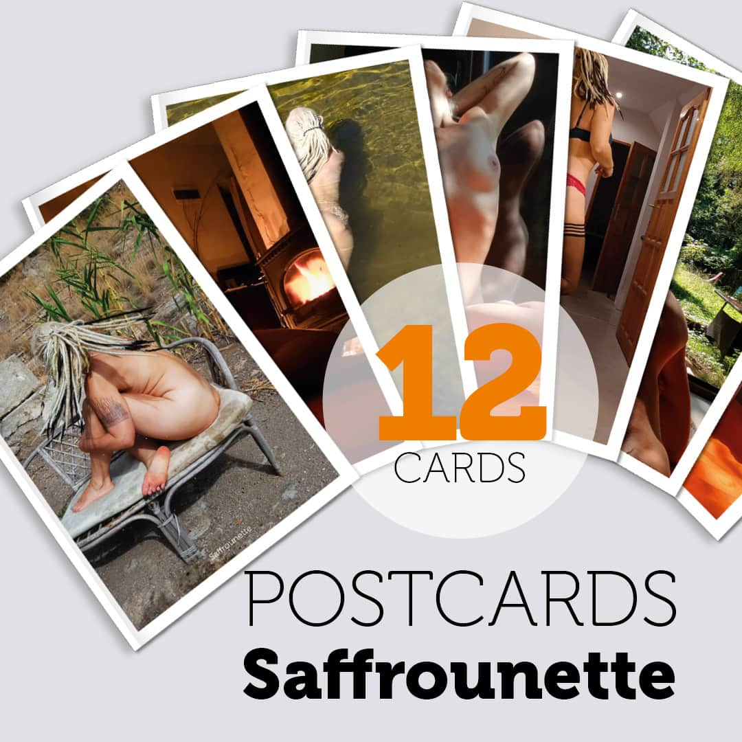 POSTCARDS - SAFFROUNETTE